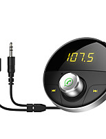 baratos -HY-62 Bluetooth 4.2 USB Car Charger Tomada Simples Bluetooth Transmissores FM MP3 Universal