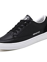 cheap -Men's Shoes Rubber Spring Comfort Sneakers White / Black / Black / White
