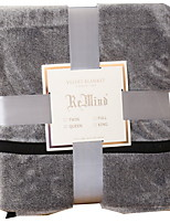 baratos -Velocino de Coral, Estampado e Jacquard Estampado Fibras Acrilicas Poliéster / Poliamida cobertores