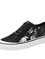 economico -Per uomo Scarpe Gomma Primavera / Estate Comoda Sneakers Bianco / nero / Black / Blue / Arancione e nero
