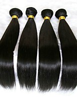cheap -Brazilian Hair Straight One Pack Solution 4 Bundles Human Hair Weaves Extention / Hot Sale Natural Black Human Hair Extensions All