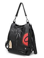 cheap -Women's Bags Sheepskin Backpack Zipper Black