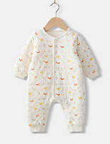 cheap -Baby Unisex Print Long Sleeves Romper