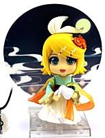 economico -Figure Anime Azione Ispirato da Cosplay Kagamine Rin PVC 10cm CM Giocattoli di modello Bambola giocattolo
