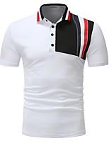 cheap -Men's Business / Active Polo - Color Block