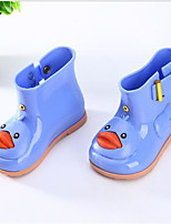 cheap -Girls' Shoes PVC Leather Spring & Summer Rain Boots Boots for Yellow / Blue / Pink