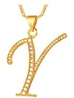abordables -Femme Or Pendentif de collier  -  Mode Irrégulier Or Argent 55cm Colliers Tendance Pour Quotidien