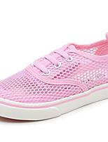 Недорогие -Девочки Обувь Тюль Лето Удобная обувь Кеды для Серый / Зеленый / Розовый