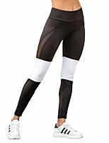cheap -Women's Yoga Pants Sports Multi Color Tights Running, Fitness, Gym Activewear Quick Dry, Breathable, Power Flex High Elasticity