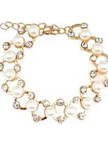 cheap -Women's Chain Bracelet / Bracelet - Imitation Pearl, Resin Bracelet Gold For Wedding / Office & Career