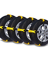 cheap -20pcs Car Snow Chains Business Buckle Type For Car Wheel For universal All Models All years