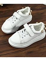 Недорогие -Мальчики Обувь Полиуретан Весна Удобная обувь Кеды для Белый
