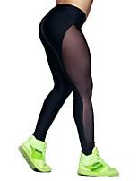 baratos -Mulheres Calças de Yoga Esportes Multi-Côr Meia-calça Roupas Esportivas Ioga, Secagem Rápida, Elasticidade Alta Com Stretch