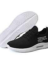 cheap -Men's Shoes Knit / Mesh Summer Comfort / Light Soles Sneakers White / Black / Gray