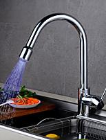 cheap -Kitchen faucet Chrome Tall / High Arc Centerset