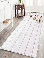 cheap -Creative Casual Country Doormats Area Rugs Flannelette, Superior Quality Rectangle Botanical Lines / Waves Rug
