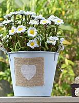 abordables -Fleurs artificielles 1 Une succursale Rustique Vase Fleur de Table
