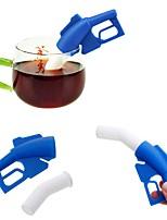 cheap -Silicone Creative Kitchen Gadget Fuel Gun 1pc Tea Strainer
