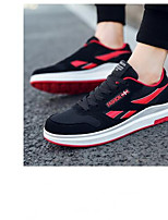 cheap -Men's Shoes Knit Spring Comfort Sneakers Black / Red / Blue