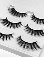 abordables -Œil 1pcs Naturel / Bouclé Maquillage Quotidien Cils Entiers / Epais Maquillage Professionnel / Portable Portable / Pro Quotidien /