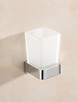 cheap -Toothbrush Holder Multifunction Contemporary Brass Bathroom Wall Mounted