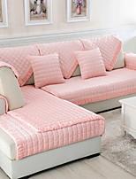 baratos -Cobertura de Sofa Sólido Impressão Reactiva Poliéster / Algodão Capas de Sofa