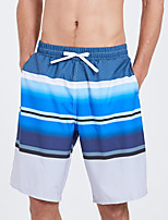 abordables -SBART Homme Shorts de Natation Etanche, Séchage rapide, Vestimentaire Polyester / Spandex Maillots de Bain Tenues de plage Shorts de Surf