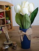 Недорогие -Искусственные Цветы 1 Филиал Деревня Тюльпаны Букеты на стол