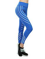 abordables -Femme Pantalon de yoga - Fuchsia, Gris clair, Bleu Des sports Rayure Collants / Leggings Tenues de Sport Danse, Séchage rapide Elastique