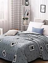 cheap -Coral fleece, Printed Cartoon Cotton / Polyester Blankets