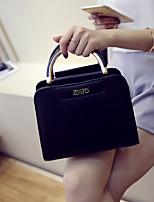 cheap -Women's Bags PU Tote Zipper for Event / Party White / Black / Purple
