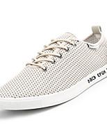 economico -Per uomo Scarpe Retato Primavera & Autunno Suole leggere Sneakers Bianco / Nero / Beige