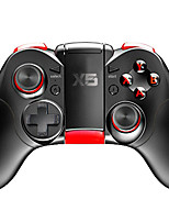 cheap -X5 Wireless Game Controllers For Android / PC / iOS, Bluetooth Portable Game Controllers ABS 1pcs unit