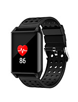 cheap -Smartwatch STR11 for Android 4.3 and above / iOS 7 and above Touch Screen / Heart Rate Monitor / Water Resistant / Water Proof Pedometer