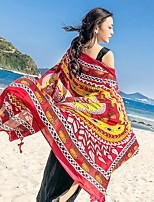 abordables -Qualité supérieure Drap de plage, Géométrique Polyester / Coton 1 pcs