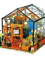 Недорогие -Кукольный домик Творчество утонченный мини Цветы Романтика 1pcs Куски Все Подарок