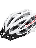 baratos -GUB® Adulto Capacete de bicicleta 30 Aberturas CE / CPSC Resistente ao Impacto, Ajustável, Viseira Removível EPS, PC Esportes Ciclismo / Moto - Vermelho / Verde / Rosa claro