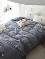 cheap -Duvet Cover Sets Stripes / Ripples Poly / Cotton 100% Cotton Reactive Print 4 Piece