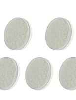 Недорогие -5 шт. 5W 36 светодиоды Простая установка LED освещение для шкафчиков Тёплый белый Холодный белый Естественный белый 220-240V