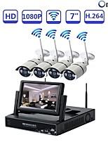 abordables -STRONGSHINE H.264 4 canales 1920 x 1080(Manual Continuo Horario Detección de Movimiento Manual / programado Grabación Manual Detección de
