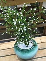 cheap -Artificial Flowers 1 Branch Rustic Plants / Baby Breath Tabletop Flower