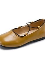 Недорогие -Девочки Обувь Резина Лето Удобная обувь / Детская праздничная обувь На плокой подошве для Черный / Светло-желтый / Хаки