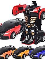 abordables -Petites Voiture Automatique / Robot Transformable / Cool Alliage de métal Enfant Cadeau 1pcs