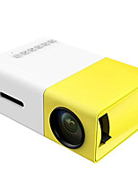 cheap -YG300 LCD Mini Projector 400lm Support 1080P (1920x1080) 24-60inch Screen