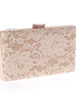 cheap -Women's Bags Polyester Evening Bag Buttons / Lace for Event / Party Black / Beige / Almond