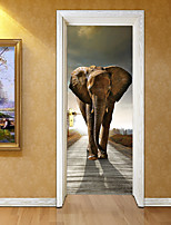 cheap -Decorative Wall Stickers - 3D Wall Stickers Animals / Shapes Living Room / Study Room / Office