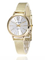 cheap -L.WEST Women's Quartz Wrist Watch Chinese Casual Watch Alloy Band Casual Fashion Silver Gold Rose Gold