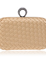 cheap -Women's Bags Textile Evening Bag Beading / Tiered for Wedding / Event / Party Red / Blushing Pink / Purple