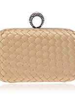 preiswerte -Damen Taschen Textil Abendtasche Perlenstickerei / Gestuft für Hochzeit / Veranstaltung / Fest Rote / Rosa / Purpur