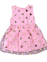cheap -Infant / Toddler Girls' Polka Dot Sleeveless Dress